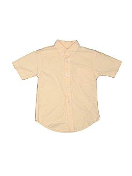 Class Club Short Sleeve Button-Down Shirt Size 4T