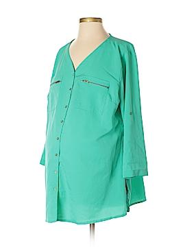 Oh! Mamma 3/4 Sleeve Blouse Size XL (Maternity)