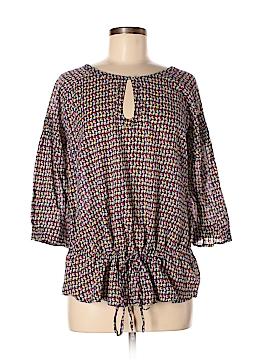 Carole Little 3/4 Sleeve Blouse Size L