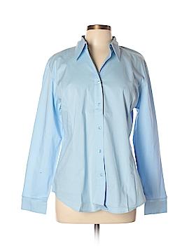 Chadwicks Long Sleeve Button-Down Shirt Size L