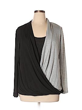 Seventh Avenue Long Sleeve Top Size 1X (Plus)