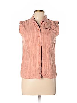 Woolrich Sleeveless Button-Down Shirt Size M