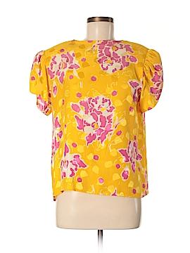 Carlisle Short Sleeve Silk Top Size 10