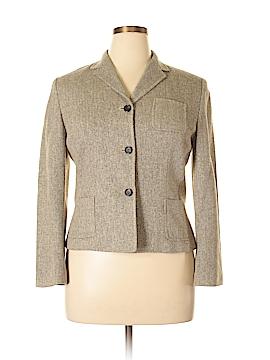 Ann Taylor LOFT Silk Blazer Size 14 (Petite)