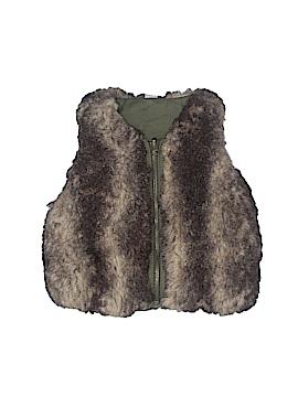 Baby Gap Faux Fur Vest Size 12-18 mo