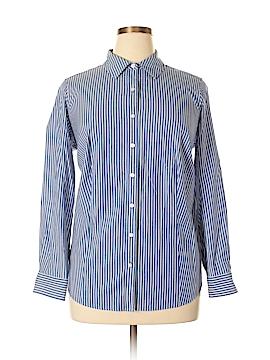 Talbots Long Sleeve Button-Down Shirt Size 14w