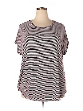 Bobeau Short Sleeve Top Size 3X (Plus)