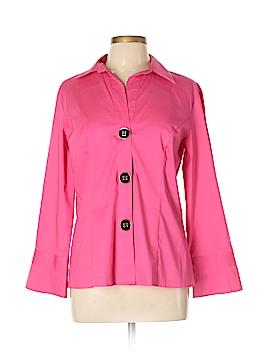 Spense Long Sleeve Button-Down Shirt Size L