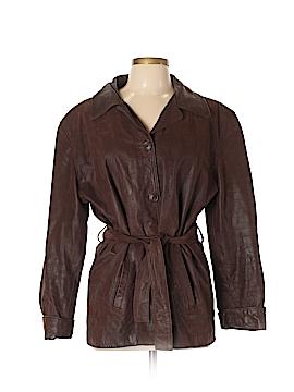 Vera Pelle Leather Jacket Size 48 (EU)