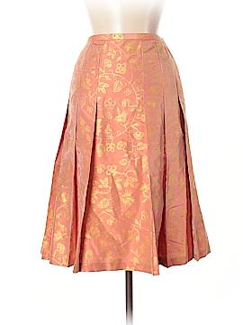 Lafayette 148 New York Silk Skirt Size 6