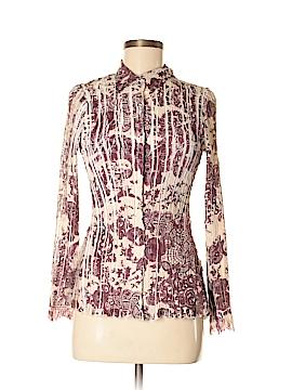 Komarov Long Sleeve Button-Down Shirt Size M