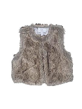CZ by Carolina Zapf Faux Fur Vest Size 3T