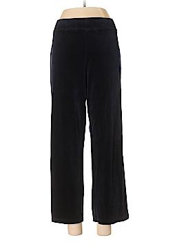 Talbots Velour Pants Size XL (Petite)