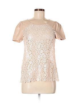 Lucy Paris Short Sleeve Blouse Size 8