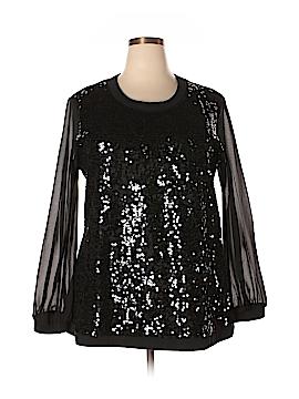 DG^2 by Diane Gilman Sweatshirt Size XL