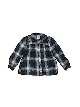 Carter's 3/4 Sleeve Button-Down Shirt Size 24 mo
