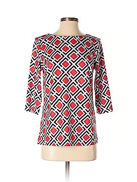 Elizabeth McKay 3/4 Sleeve Top Size XS