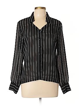 Newport News Long Sleeve Blouse Size 12
