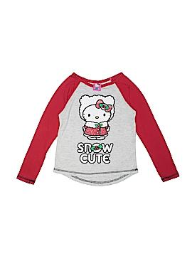 Hello Kitty Long Sleeve T-Shirt Size 7 - 8