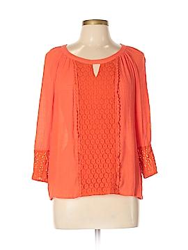 Zac & Rachel 3/4 Sleeve Blouse Size L (Petite)