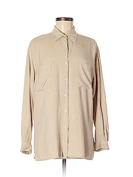 Jones New York Long Sleeve Silk Top Size 8