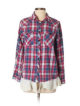 Vintage Havana Long Sleeve Button-Down Shirt Size S