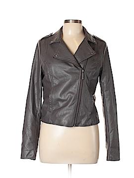 Arizona Jean Company Faux Leather Jacket Size M