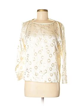 Cynthia Rowley Long Sleeve Silk Top Size S