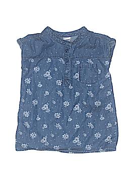OshKosh B'gosh Short Sleeve Blouse Size 18 mo