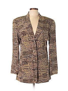 Saks Fifth Avenue Silk Blazer Size L