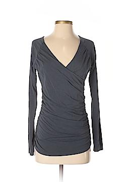 Garnet Hill Long Sleeve Top Size S