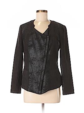 DKNY Jeans Faux Leather Jacket Size M