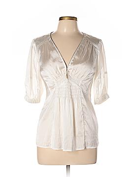 Nanette Lepore Short Sleeve Blouse Size 4