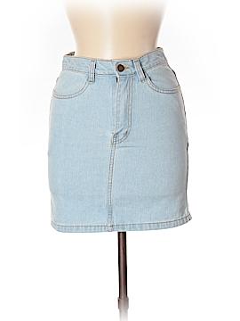Unbranded Clothing Denim Skirt Size S