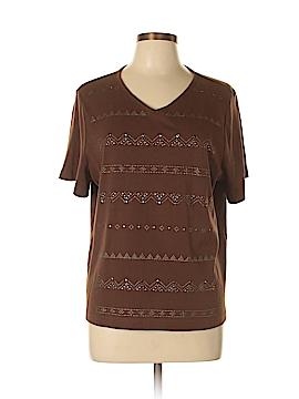 BonWorth Short Sleeve Top Size M