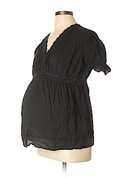 Zero 2 Nine Short Sleeve Blouse Size L (Maternity)