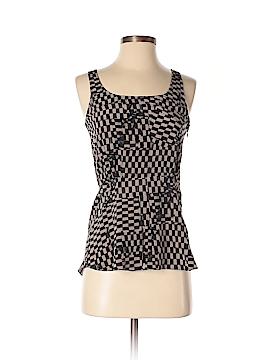 Vena Cava Sleeveless Silk Top Size 0