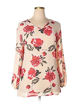 Unbranded Clothing Long Sleeve Blouse Size 3X (Plus)