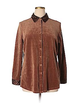 Gloria Vanderbilt Jacket Size 1X (Plus)