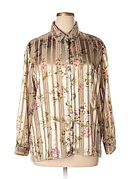 BonWorth Long Sleeve Blouse Size XL (Petite)