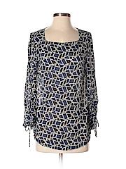 AVA Women Long Sleeve Blouse Size S