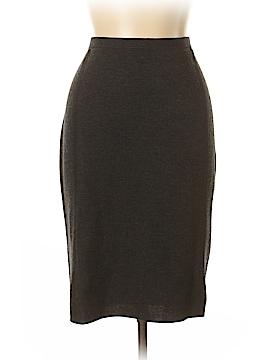 Eileen Fisher Wool Skirt Size M