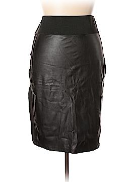 Calvin Klein Faux Leather Skirt Size 1X (Plus)