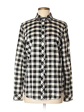 C. Wonder Long Sleeve Button-Down Shirt Size M
