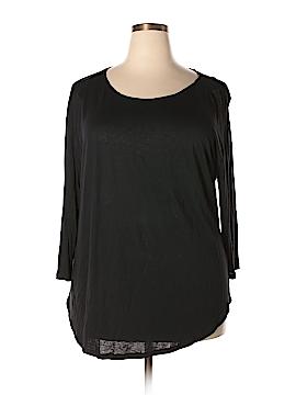 A.n.a. A New Approach 3/4 Sleeve T-Shirt Size 2X (Plus)