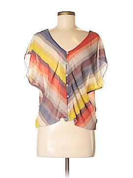 Rewind Short Sleeve Blouse Size M