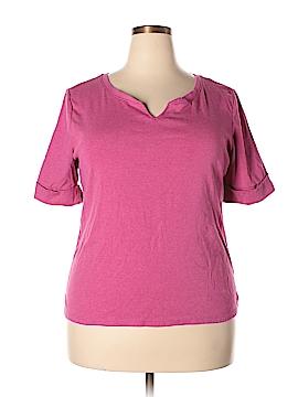 Ellen Tracy Short Sleeve T-Shirt Size XXL