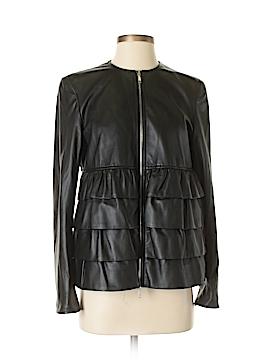 Lafayette 148 New York Leather Jacket Size 4