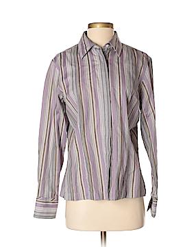 Van Heusen Long Sleeve Button-Down Shirt Size M