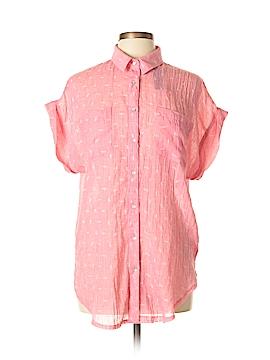 Ellison Short Sleeve Button-Down Shirt Size L